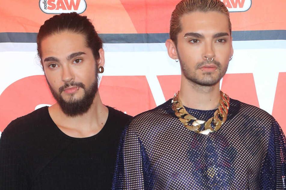 """Tom Kaulitz (28, l.) wurde mit seinem Bruder Bill und der Band """"Tokio Hotel"""" berühmt."""