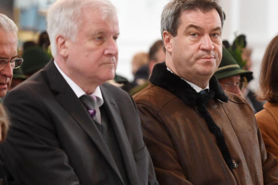 CSU-Debakel bei Landtagswahl? Seehofer sieht Schuld bei Söder