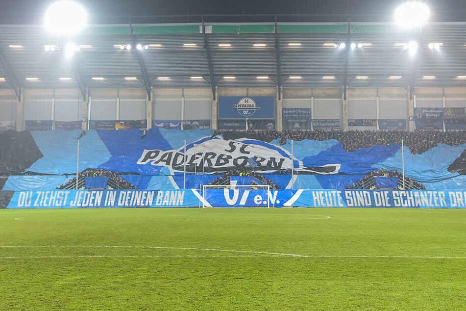 Die Benteler-Arena war schon gegen den Zweitligisten FC Ingolstadt gut besucht.