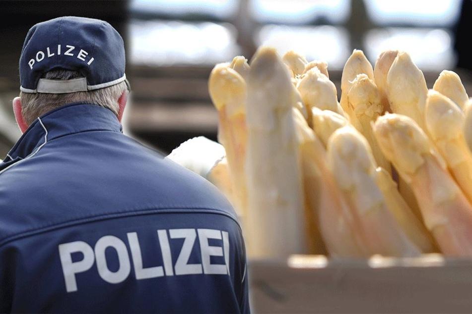 In Mittelsachsen fahren Polizeistreifen nun häufiger an den Spargelfeldern vorbei, um nach dem Rechten zu sehen.