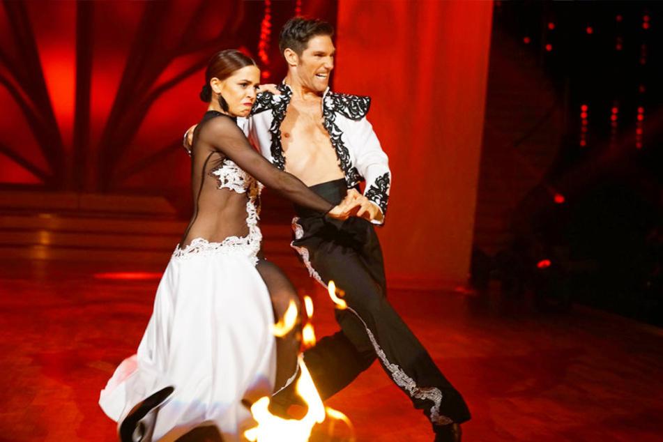 Auch im Finale rissen Vanessa Mai und Christian Polanc wieder Jury und Publikum von den Sitzen.