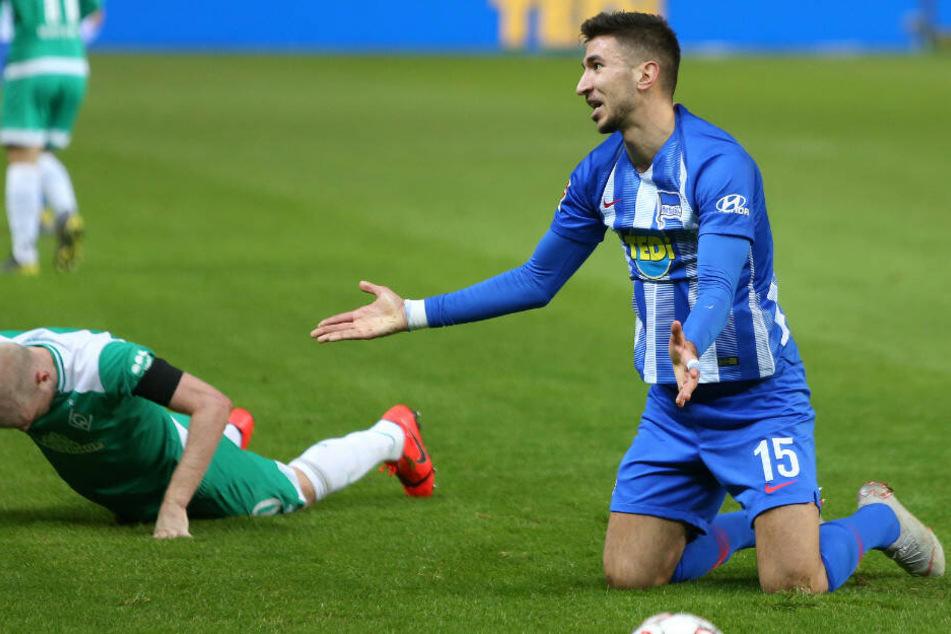 Marko Grujic wird Hertha BSC erstmal fehlen.