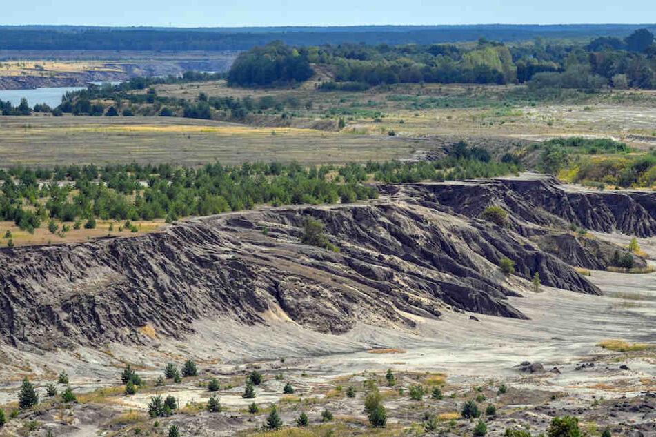 In Tagebau-Grube: Hier entsteht der größte (künstliche) See Deutschlands