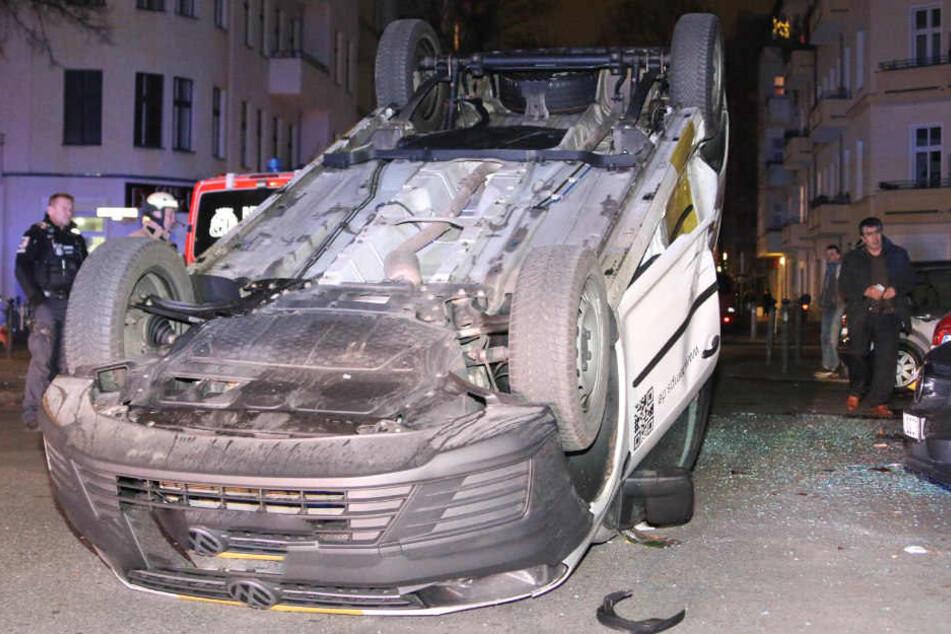 Der Fahrer wurde bei dem Unfall nicht verletzt.