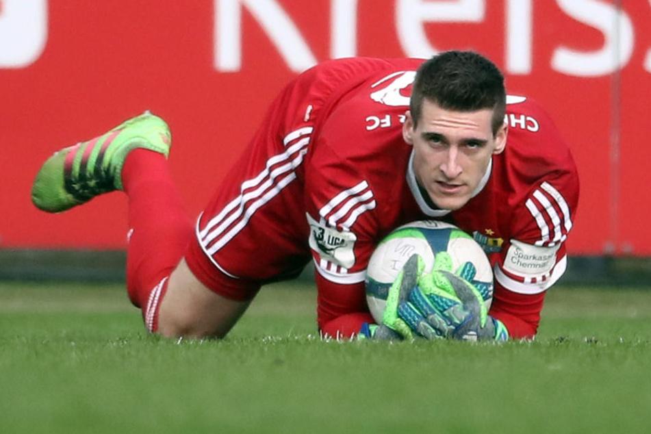 Stammkeeper Kevin Kunz ist wieder fit. Er würde am Samstag gern gegen den SV Meppen spielen.
