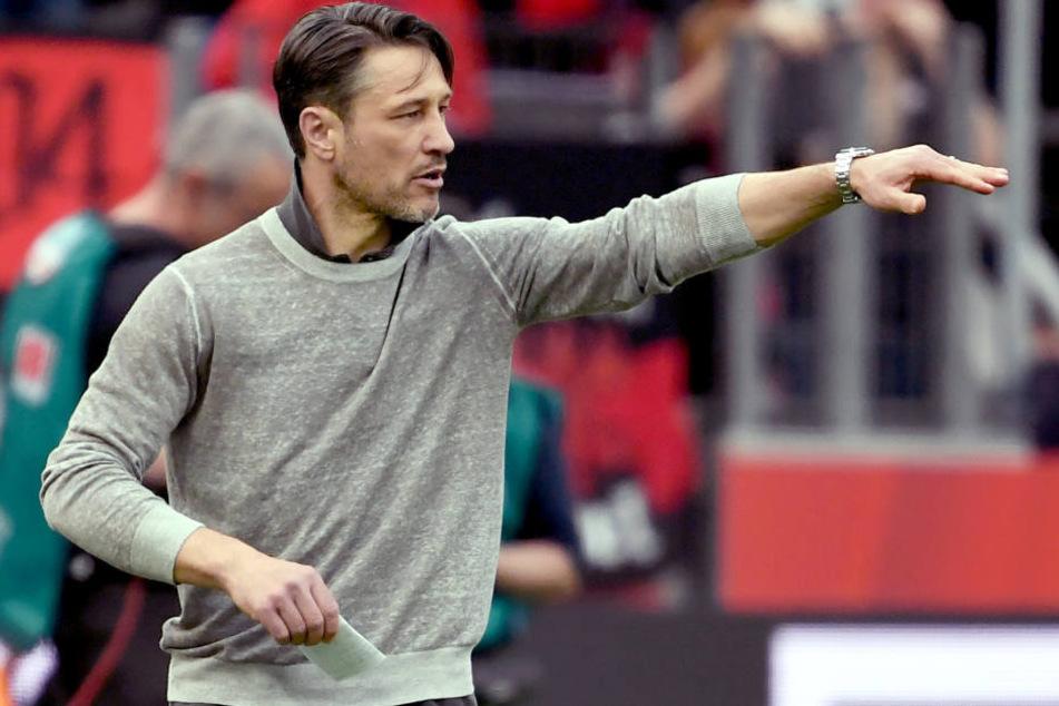 Haben die turbulenten Tage um Niko Kovac ihre Spuren bei der Eintracht hinterlassen?