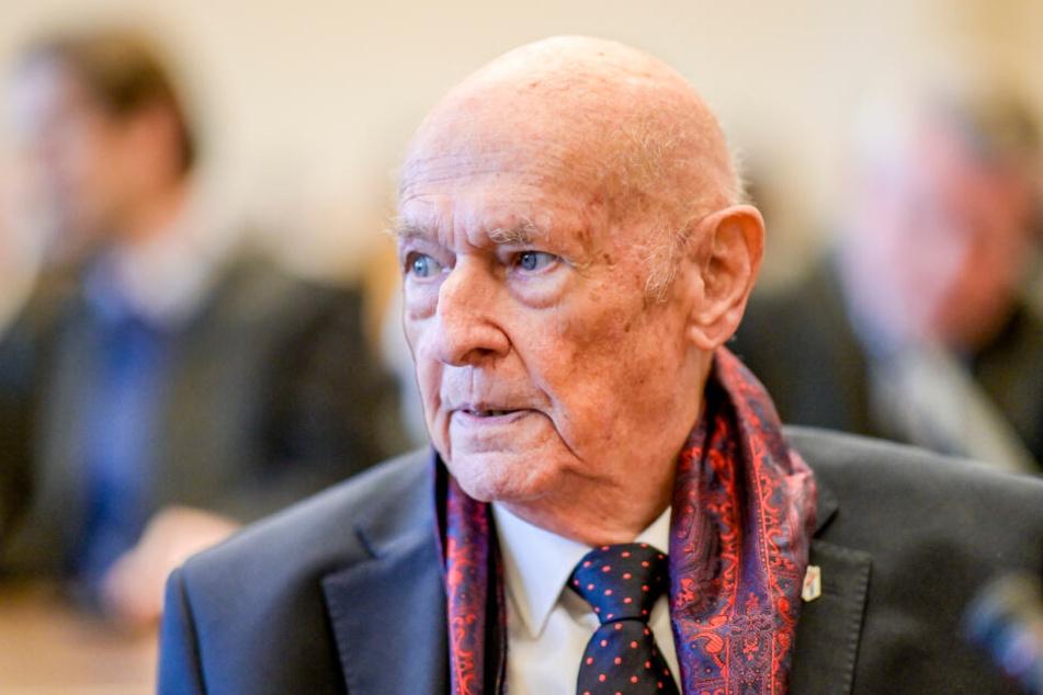 Marek Dunin-Wasowicz überlebte das KZ Stutthof.