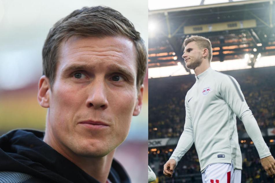 Bedauert den Weggang von Timo Werner (rechts) immer noch: VfB-Coach Hannes Wolf.