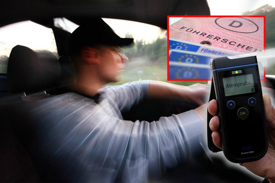 Betrunken und ohne Führerschein ging ein Mann (36) auf Spritztour mit einem geklauten Firmenwagen. (Symbolbild)
