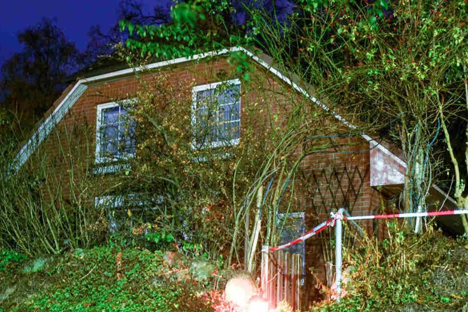 In diesem Haus wurde der Rentner getötet.