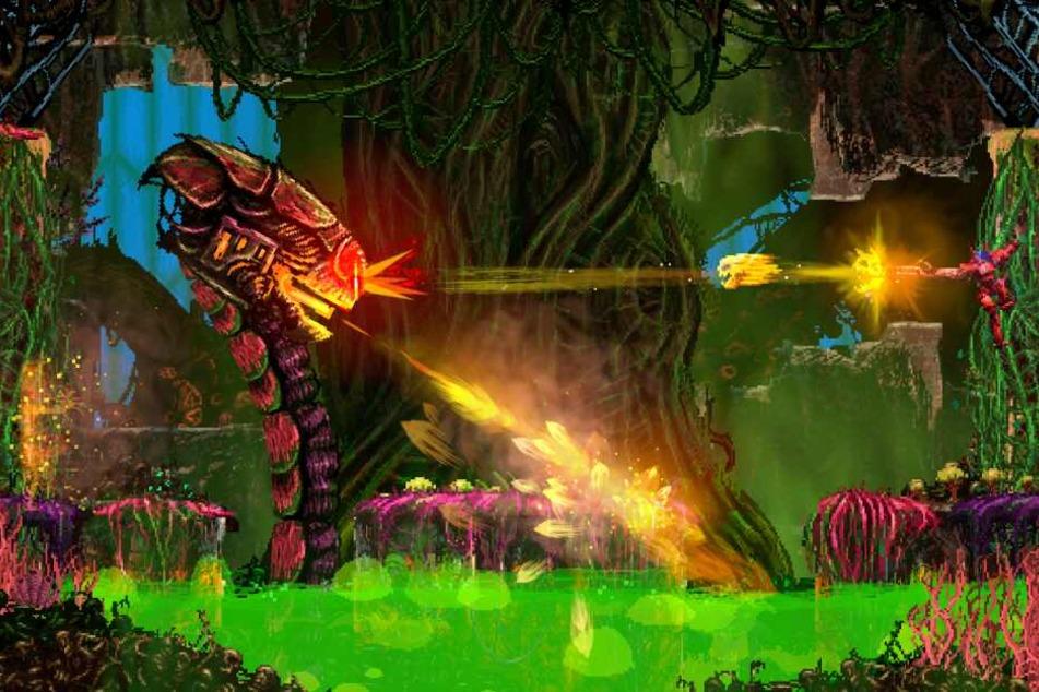 """Mit """"Valfaris"""" liefern Big Sugar und Steel Mantis ein 2D-Action-Jump 'n Run der Extra-Klasse."""