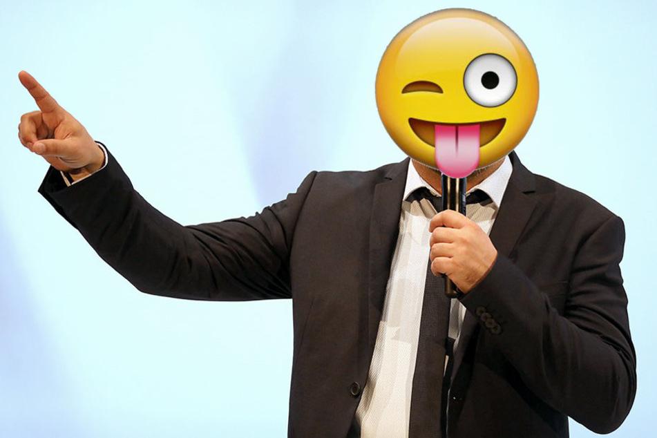 Dieser Comedian meint es ernst, hat jedoch keinen blassen Schimmer