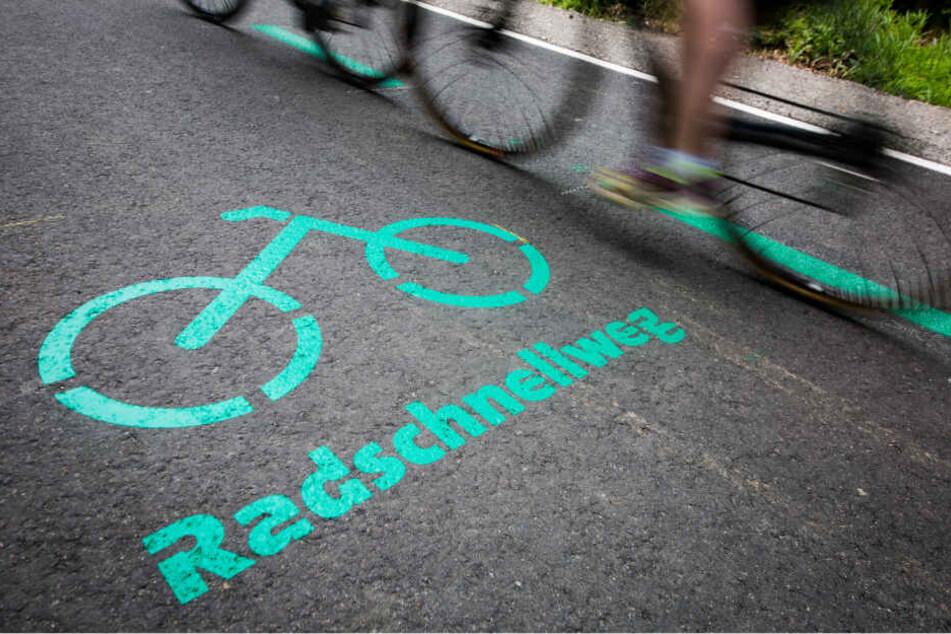 In Böblingen wurde die Umleitung zu einem Radweg vergessen.