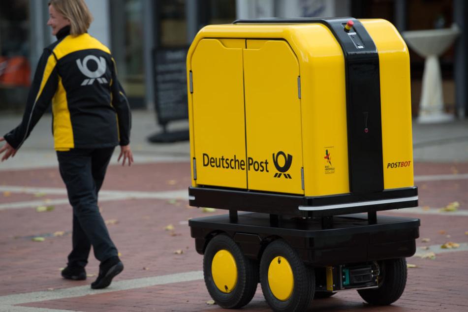 Hat der Postroboter eine Zukunft im Zustelldienst?