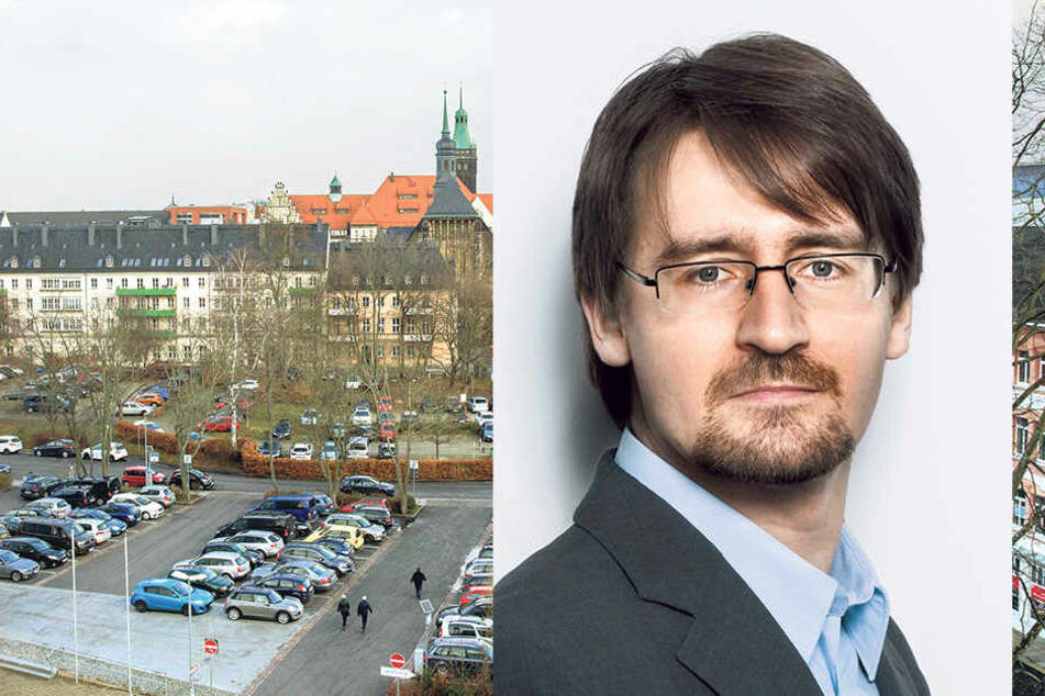 Goldstaubmeile Getreidemarkt: Mitten in der City steigen die Mieten am stärksten. FOG-Instituts-Chef Ulrich Weiser (37) findet die Preise trotzdem noch günstig.