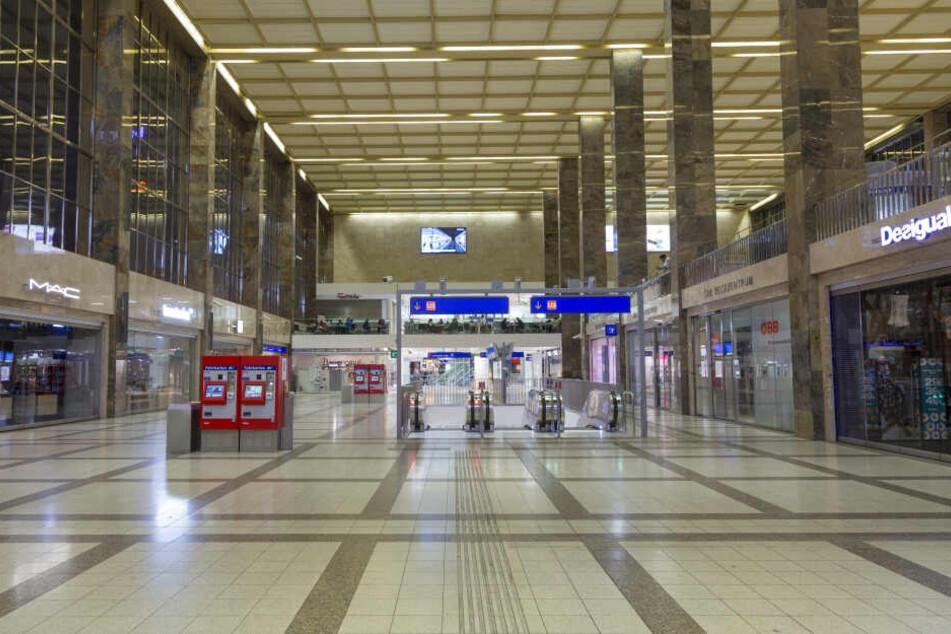 Der Boxer verschwand an einem Wiener Bahnhof. (Symbolbild)