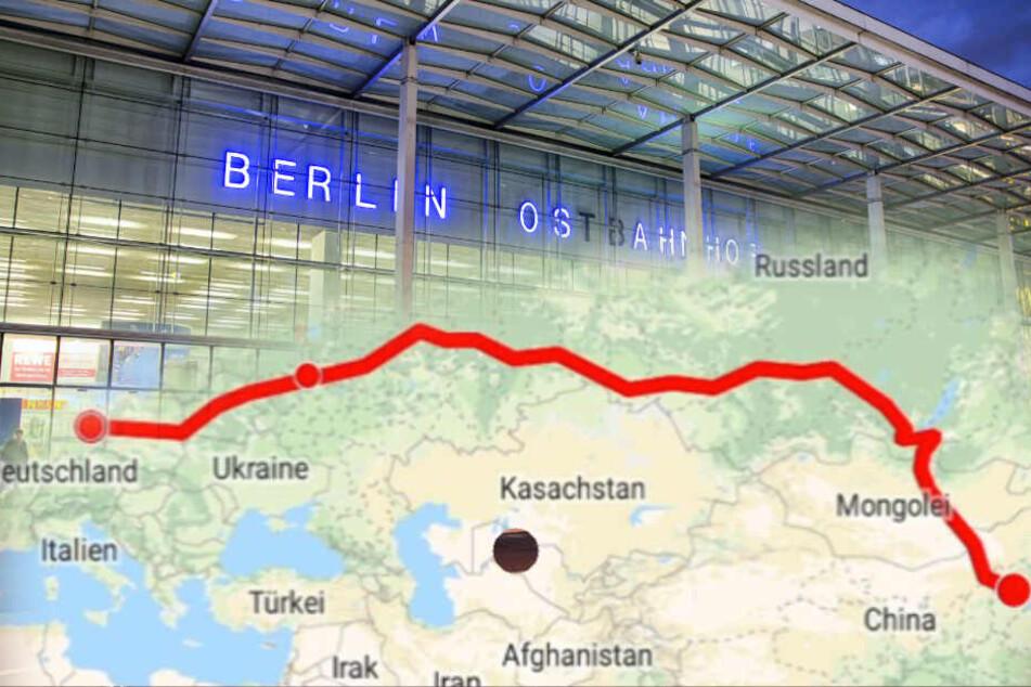 Noch nichts vor? In Berlin einsteigen, in Moskau umsteigen und bis Peking durchrollen