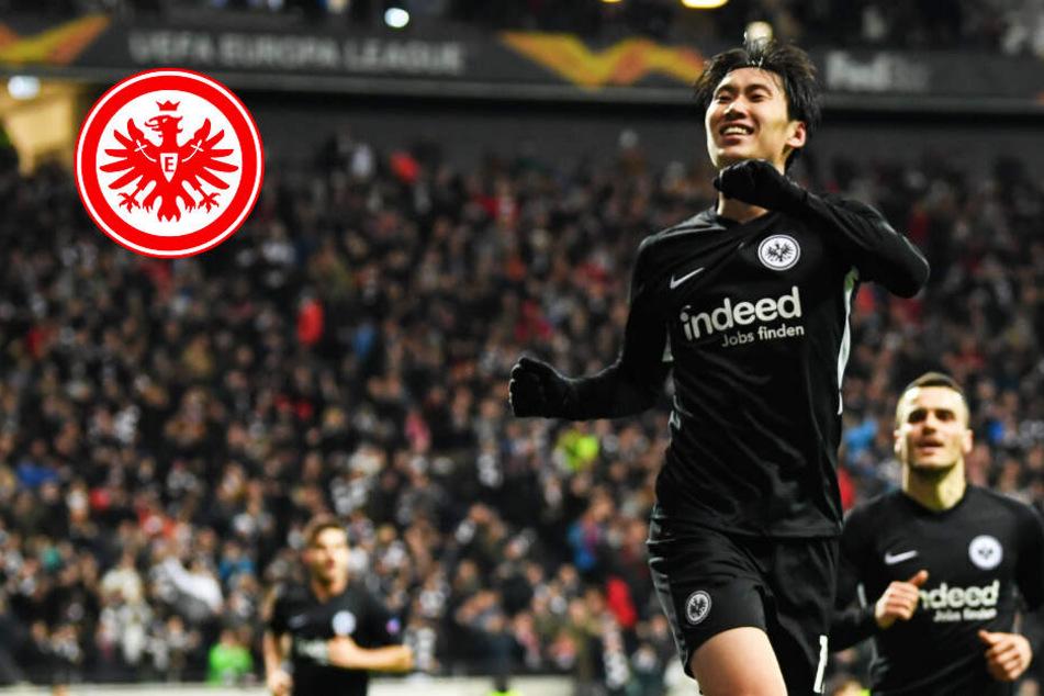 Eintracht schießt Red Bull Salzburg dank Kamada-Dreierpack ab!