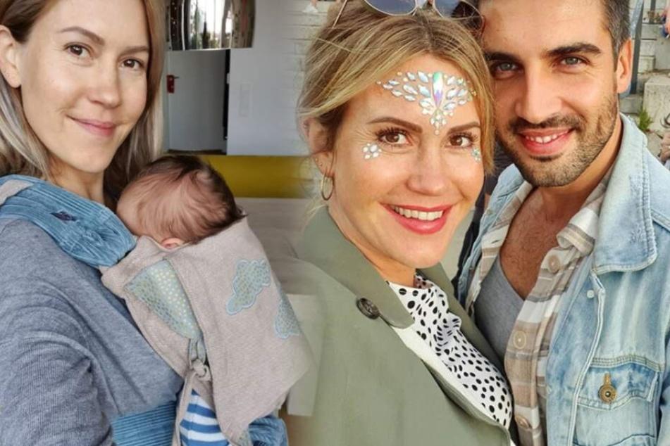 Anfang September sind Wolke Hegenbarth (39) und ihr Freund Oliver Vaid zum ersten Mal Eltern geworden.