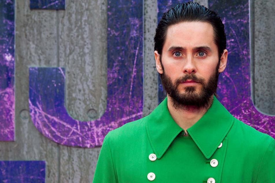 Sänger und Schauspieler Jared Leto ist mit seiner Band 30 Seconds to Mars in Berlin.