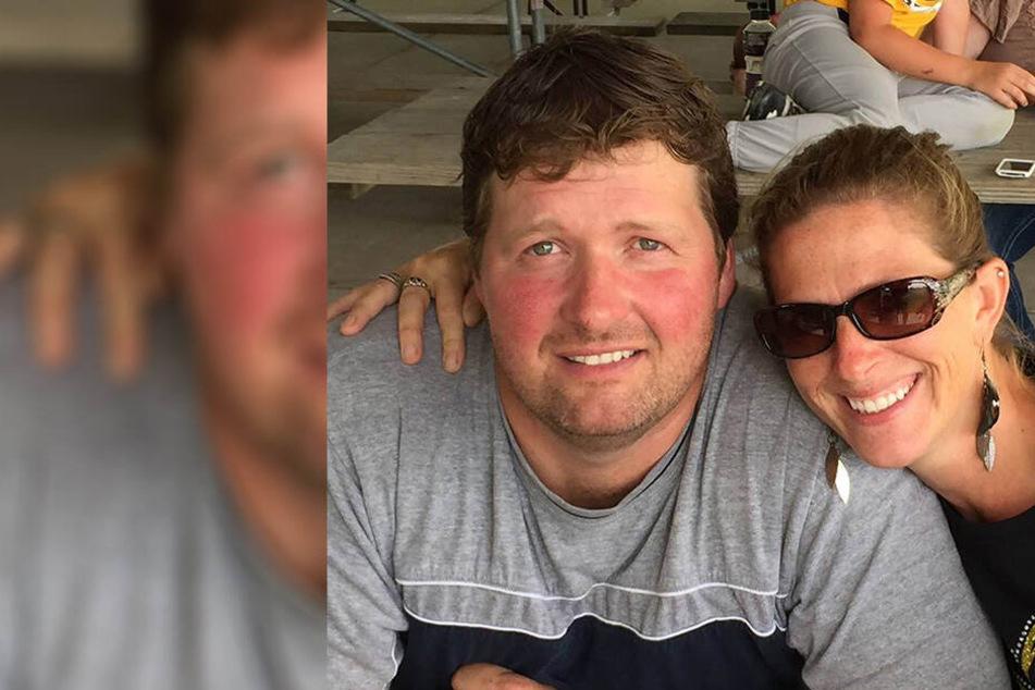 Tod Mullis und seine Frau Amy.