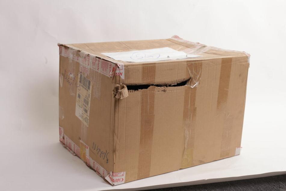 Offensichtlich beschädigte Pakete sollten nicht angenommen werden.