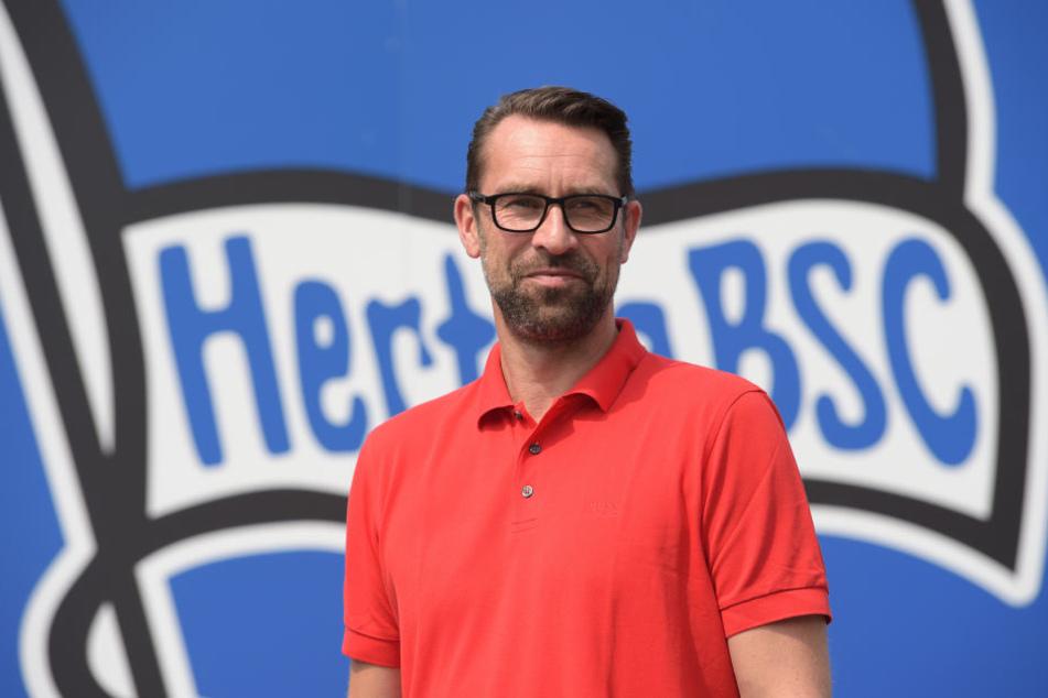 Michael Preetz bleibt der Hertha mindestens drei weitere Jahre erhalten.