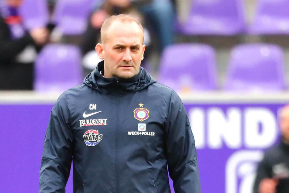 Carsten Müller ist seit 2015 Nachwuchsleiter beim FC Erzgebirge. Seit dem Heimspiel gegen Paderborn steht er auch als Co-Trainer der Profis an der Seitenlinie.