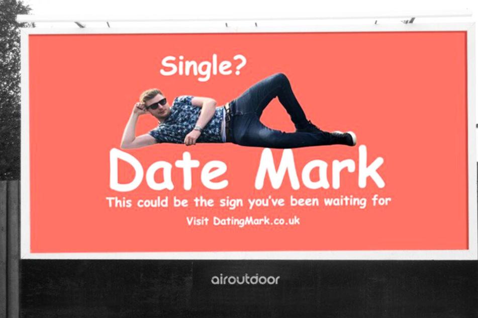 Mit diesem Plakat machte Mark Rofe auf sich aufmerksam.