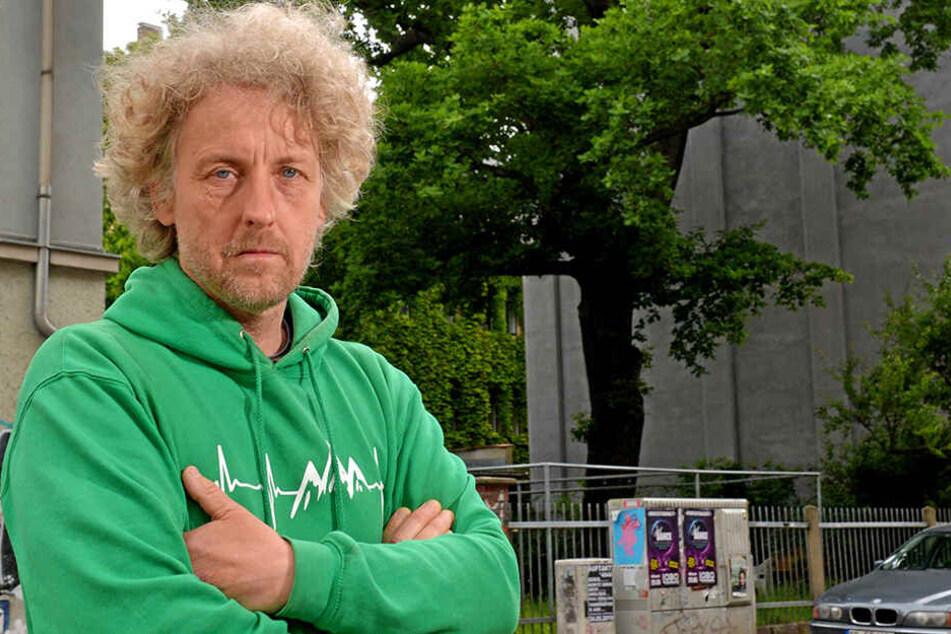 Stadtrat Torsten Schulze (49, Grüne) stoppte den Denkmalschutz-Frevel.