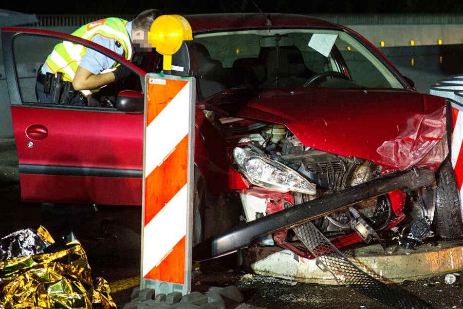 Der Unfall passierte in einem Baustellenbereich auf der A643.