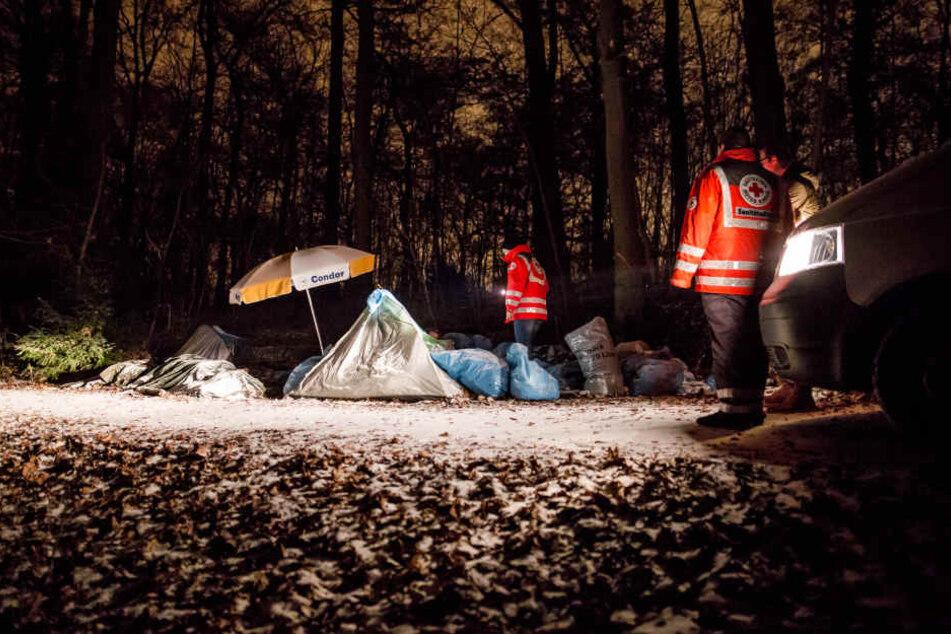 In kalten Nächten droht Obdachlosen der Kältetod.
