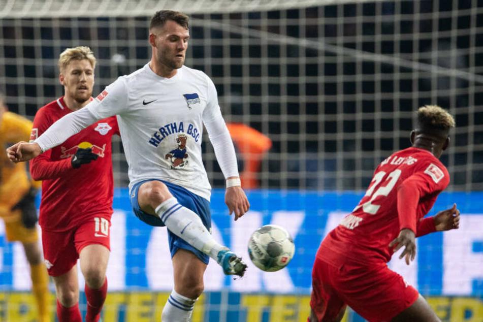 Eduard Löwen verlässt Hertha bereits nach einem halben Jahr wieder.