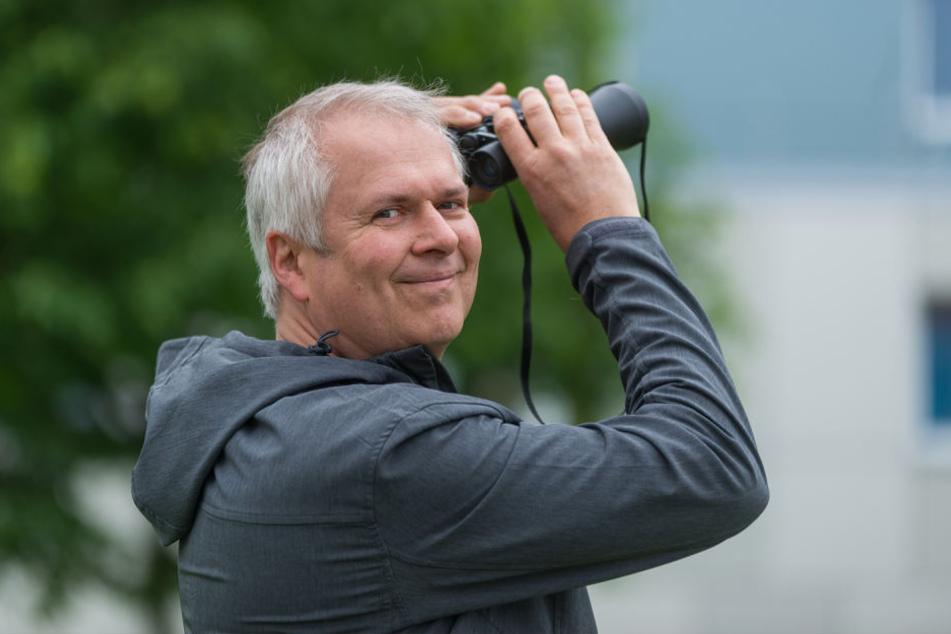 Harald Wolf (52), Sachbearbeiter im Umweltamt, bietet regelmäßig Führungen  durch die Innenstadt an.