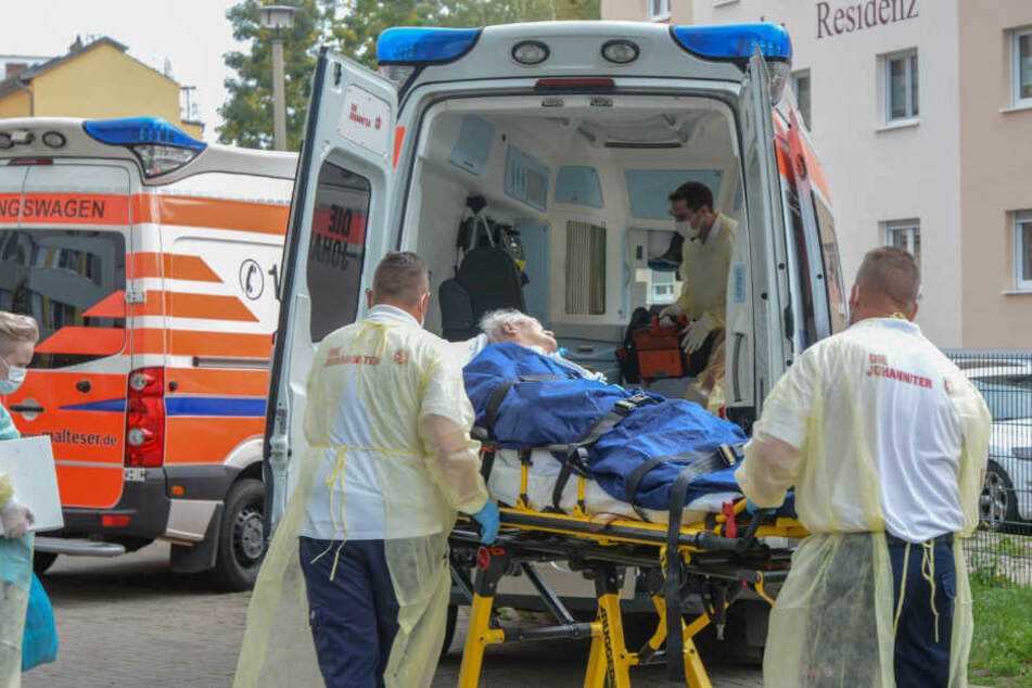 Auch ein Pflegeheim im Gefahrenbereich musste evakuiert werden.