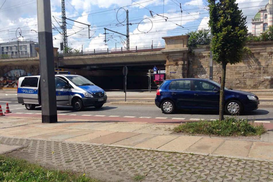 Am Nachmittag wurde eine Fußgängerin schwer verletzt.