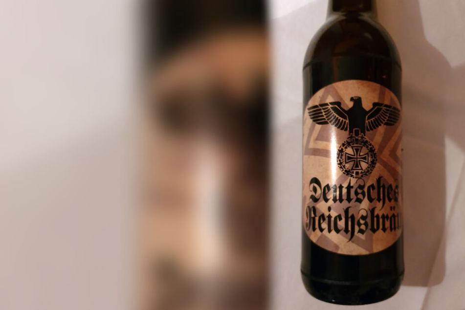 """""""Deutsches Reichsbräu"""" wird in einem Supermarkt verkauft."""