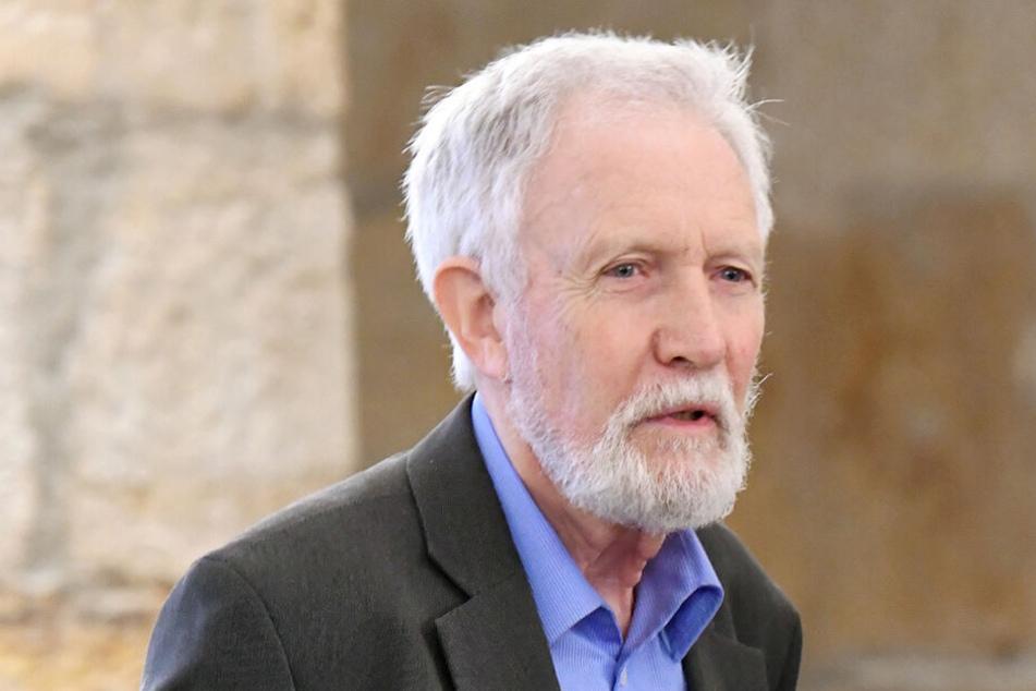 Eine prägende Persönlichkeit für die Denkmalpflege in Sachsen: Professor Gerhard Glaser (82).