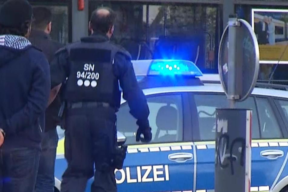 Im Kreis Görlitz wurden zwei Randalierer festgenommen. (Symbolbild)