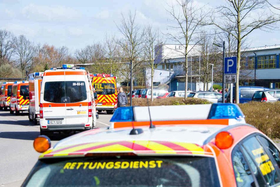 Die Schule musste evakuiert werden, 40 Schüler waren von der Attacke betroffen.