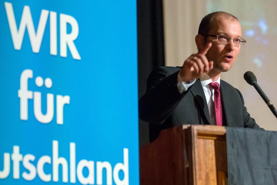 Stefan Möller will Oberbürgermeister von Erfurt werden.