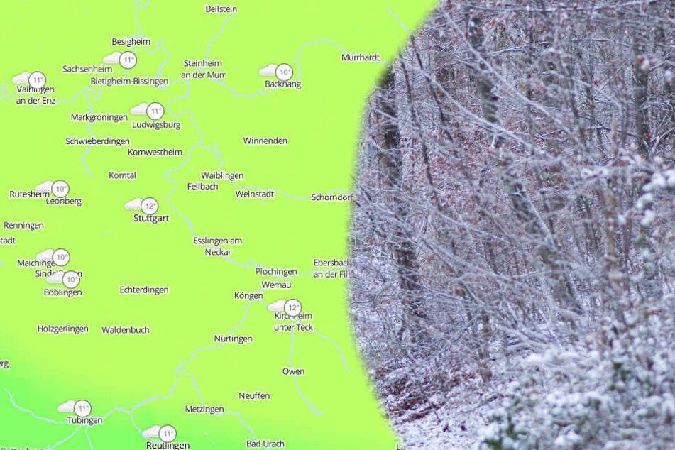 Ab Donnerstag ist vereinzelt mit Schneeschauer zu rechnen.