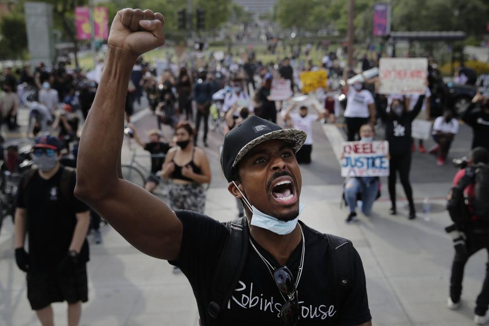 Eine Demonstration gegen Rassismus in den USA.