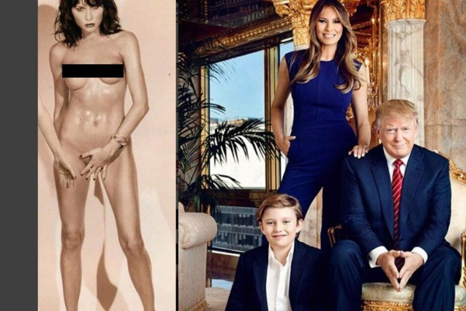 Jetzt sind diese Nacktbilder von Donald Trumps Frau aufgetaucht