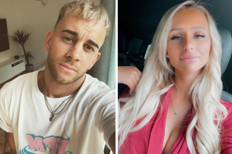 Serkan Yavuz (28) und Carina Spack (25) sind seit Oktober 2020 kein Paar mehr. (Fotomontage)