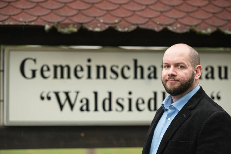 Der umstrittene NPD-Ortsvorsteher Stefan Jagsch.