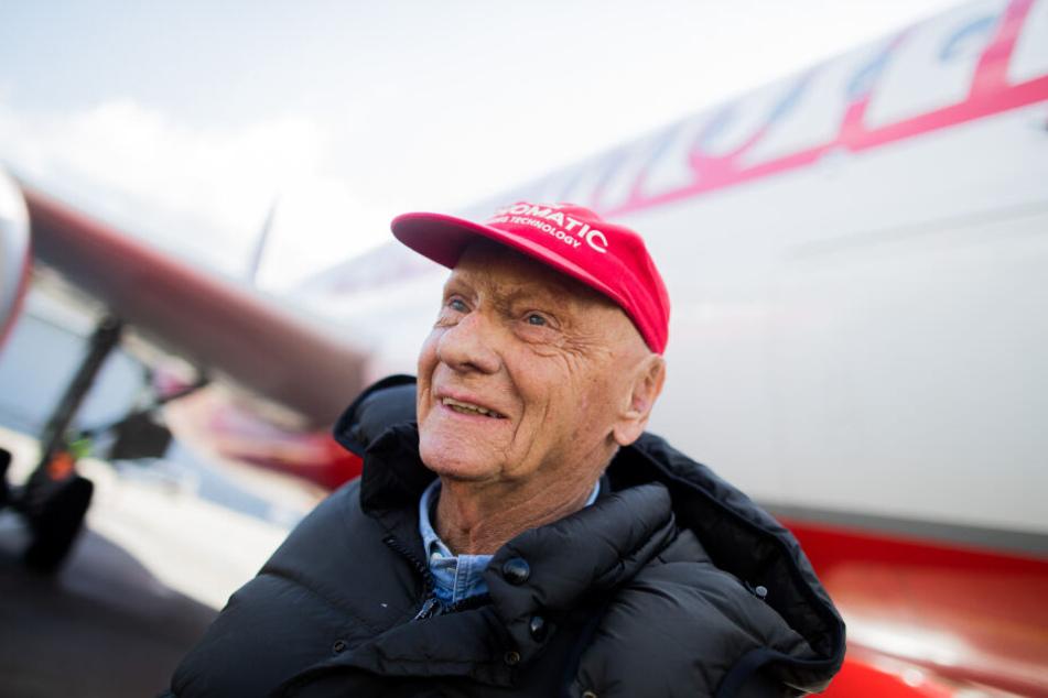 Der ehemalige Rennfahrer Niki Lauda wurde 70 Jahre alt.
