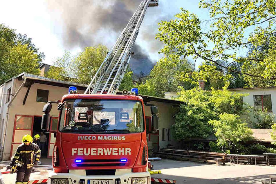 Die Feuerwehr musste zur Limbacher Straße ausrücken.