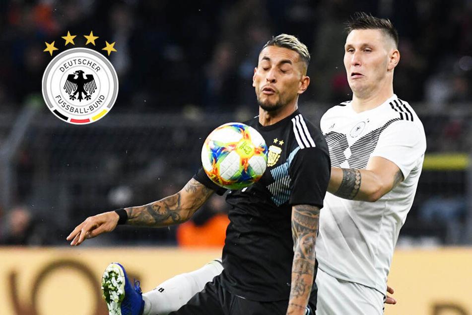 DFB-Notelf verspielt Führung! Deutschland nur Remis gegen Argentinien