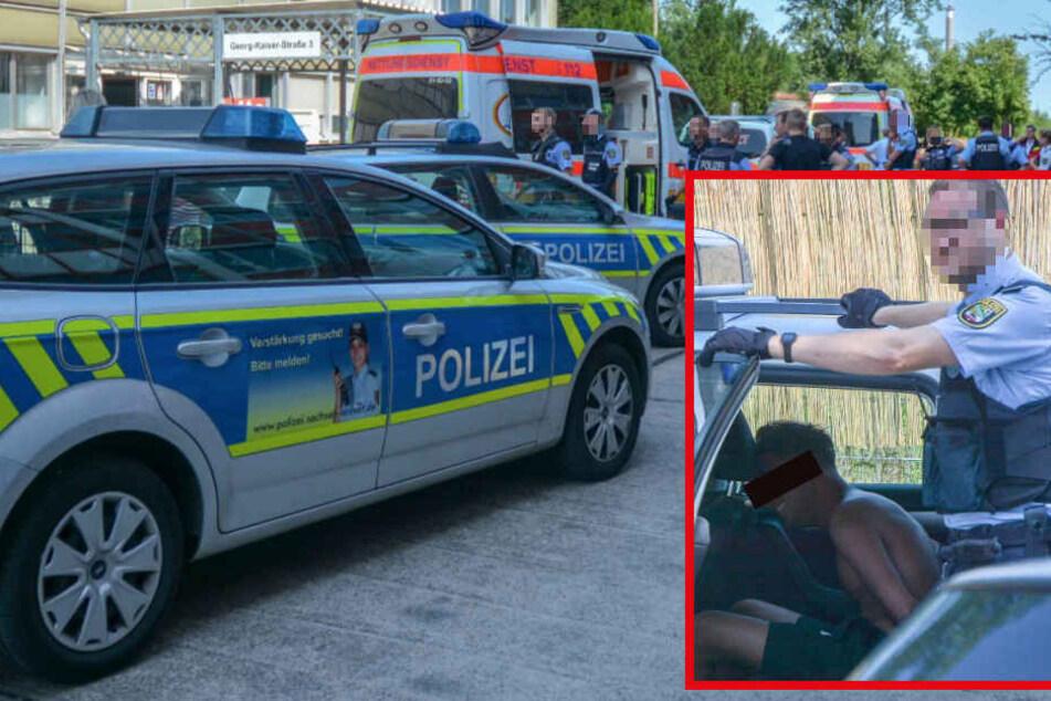 Schlägerei in Sozialamt: Täter attackiert Security-Mitarbeiter mit Messer